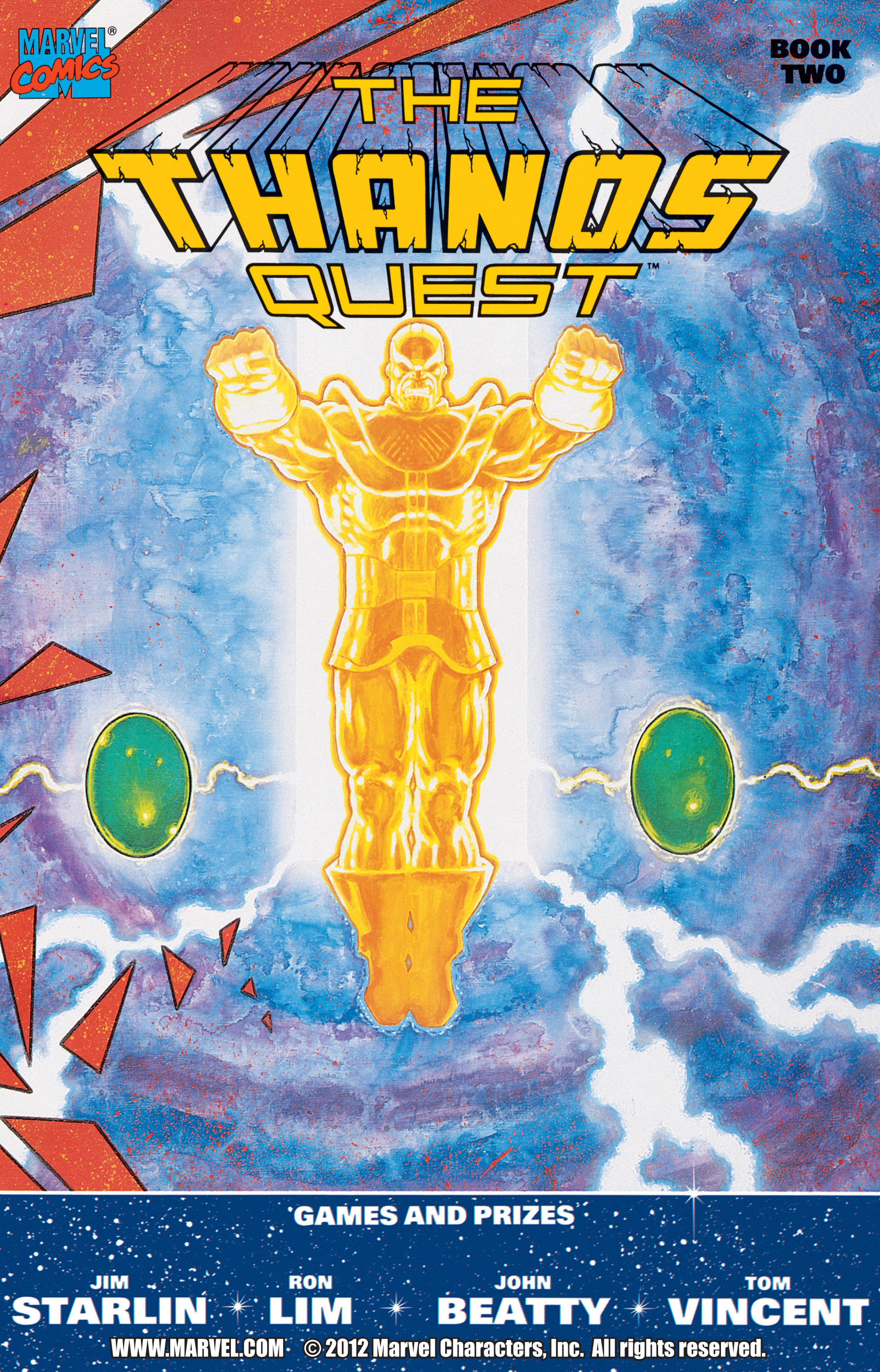 Thanos Quest Vol 1 2