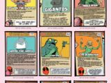 Deadpool's Guide to Super Villains Cards