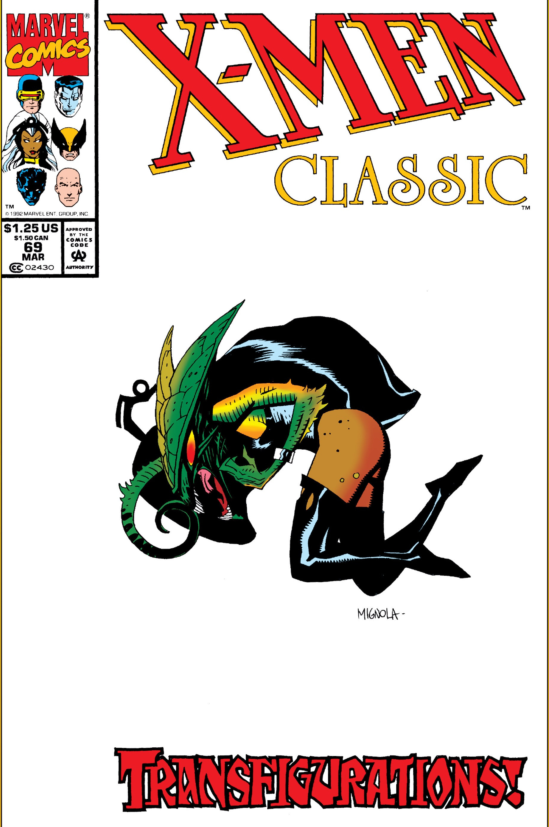 X-Men Classic Vol 1 69