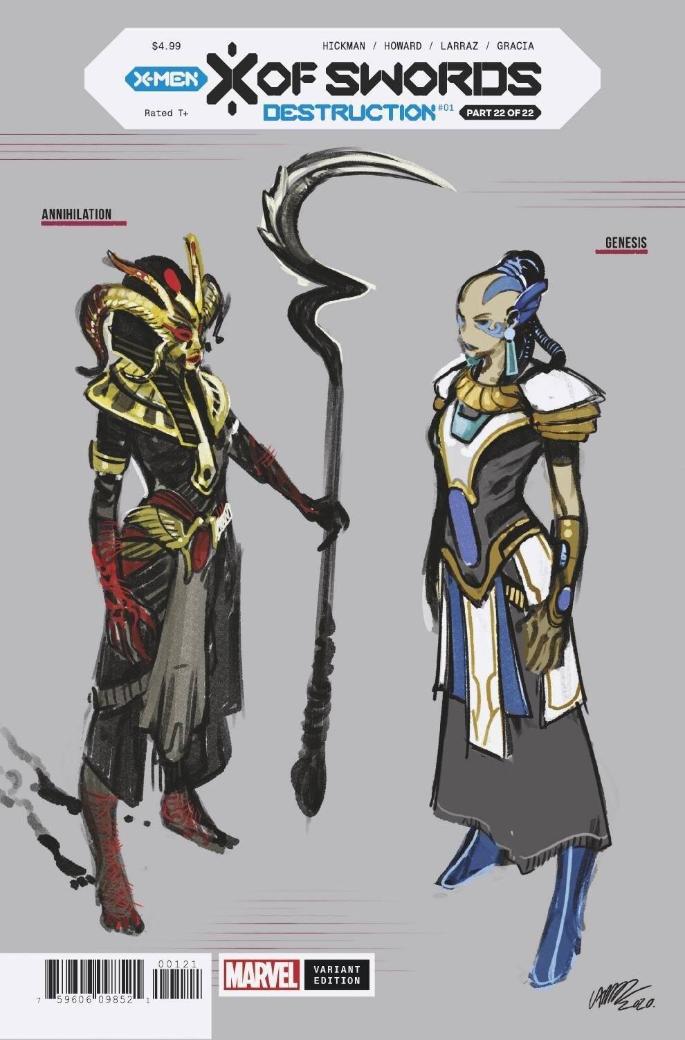X of Swords: Destruction Vol 1 1