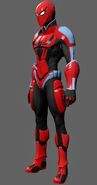 Spiderman New Avengers Concept Suit