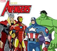 Logo de la serie The New Avengers