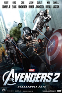 Avengers 2 Infinity Poster