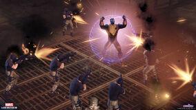 Colossus defends (1)