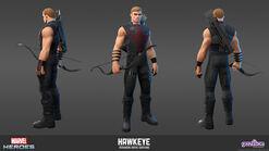 Hawkeye Avengers Movie Model