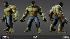 Hulk Avengers Movie Model