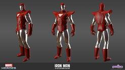 Iron Man Silver Centurion Model