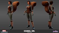 Squirrel Girl Classic Model