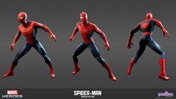 Spiderman Modern Model