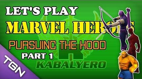 Let's Play Marvel Heroes - Pursuing The Hood (Part 1)