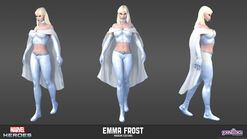 Emma Frost Modern Model