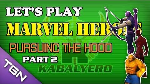Let's Play Marvel Heroes - Pursuing The Hood (Part 2)