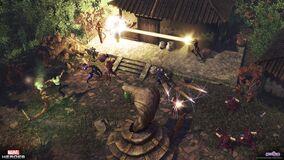 Serpent shrine hawkeye modern panther wakandan wol