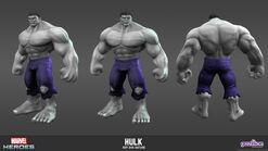 Hulk Gray Skin Model
