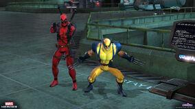Deadpool wolverine action 0