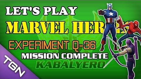 Let's Play Marvel Heroes - Experiment Q-36 Mission Complete
