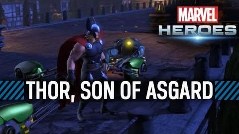 Marvel Heroes - Thor, Son of Asgard Trailer