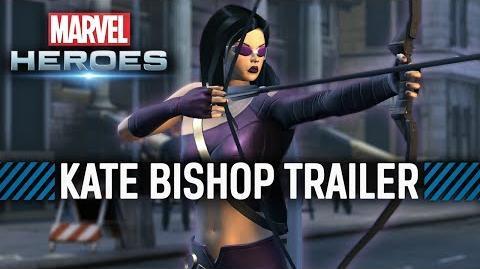 Marvel Heroes - Kate Bishop ENHANCED Hawkeye Costume