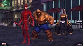 Daredevil thing storm team