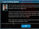 Learn Crafting System
