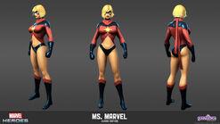 Ms. Marvel Classic Model