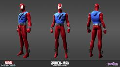 Spider-man Scarlet Spider Model