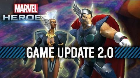 Marvel Heroes Game Update 2
