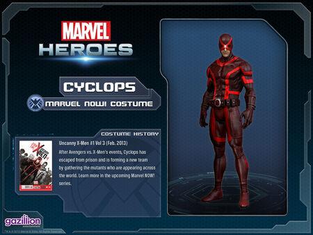 Marvel NOW! Costume