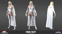 Emma Frost White Queen Model