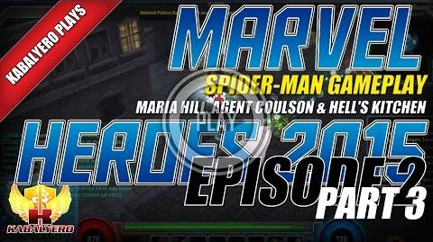 WTFast & Marvel Heroes 2015 Spider-Man Gameplay E2P3 Maria Hill, Agent Coulson & Hell's Kitchen