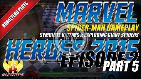 WTFast & Marvel Heroes 2015 Spider-Man Gameplay E2P5 Symbiote Victims & Exploding Giant Spiders