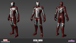 Iron Man Mark V Model