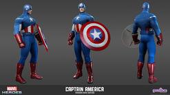 Captain America Avengers Movie Model