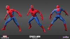 Spiderman Classic Model