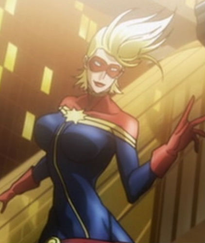 Carol Danvers (Marvel Anime)