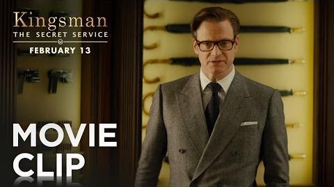 """Kingsman The Secret Service """"Weapons Cache"""" Clip HD 20th Century FOX"""