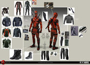 Deadpool Concept Art 05