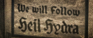 We will rise heil hydra
