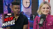 Olivia Holt & Aubrey Joseph of 'Marvel's Cloak & Dagger' talk Season 2! This Week in Marvel