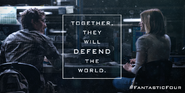 Together They Will Defend The World