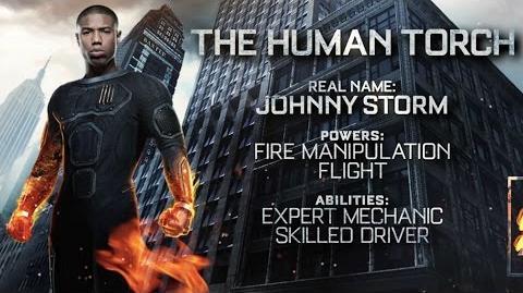 "Fantastic Four ""The Human Torch"" Power Piece HD 20th Century FOX"