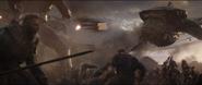 M'Baku participates in battle