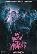 The New Mutants Fandango Poster