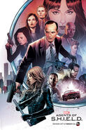 Agents of SHIELD Season 3 SDCC Poster