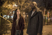 Luke Cage - Claire and Luke - August 17 2016