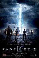 2015 Fantastic Four Poster