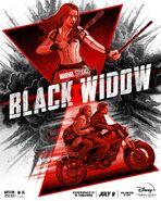 Black Widow C. A. Martin Poster
