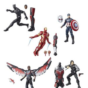 Captain America Civil War Action Figures Marvel Movies Fandom