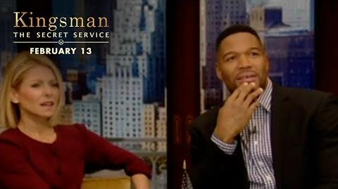 Kingsman The Secret Service Live! With Kelly and Michael HD 20th Century FOX