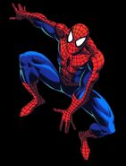 Spiderman tas-character model